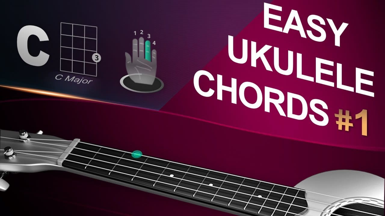 Easy Ukulele Chords Tutorial #1