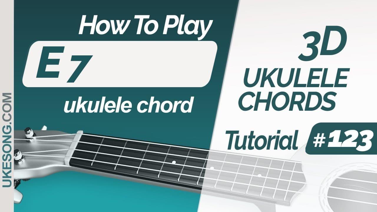 E15 ukulele chord