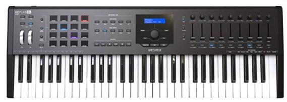 Arturia KeyLab 61 MKII Keyboard Controller