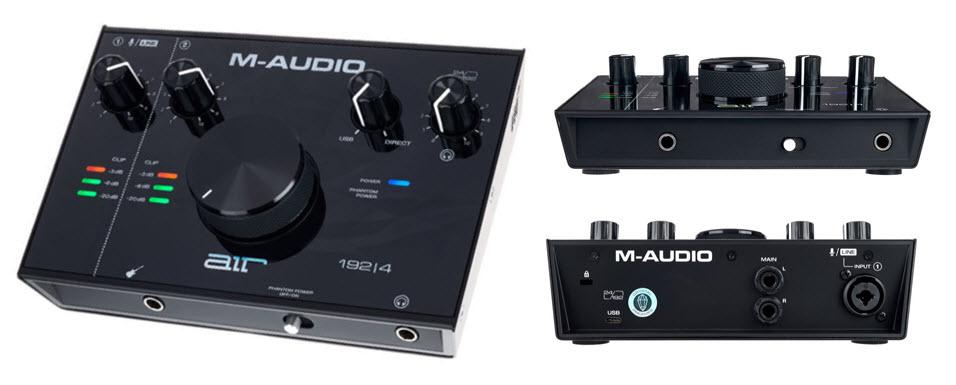 M Audio AIR USB Audio MIDI Interface