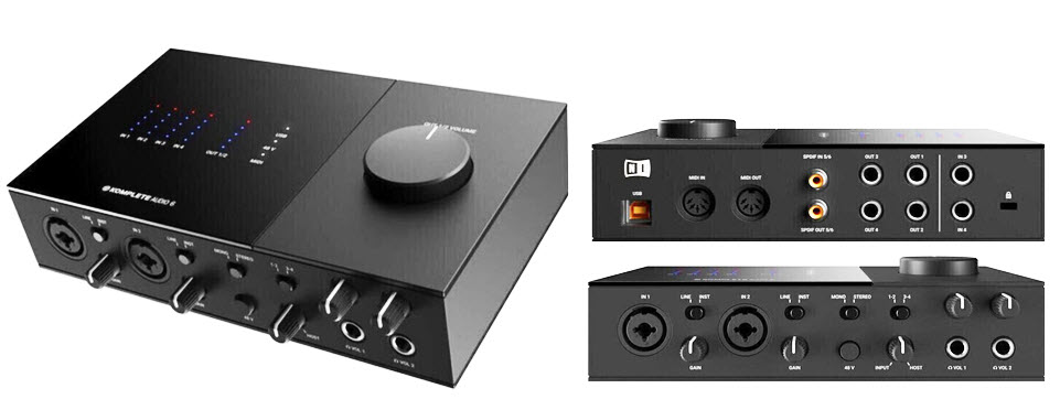 Native Instruments Komplete Audio 6 USB Audio