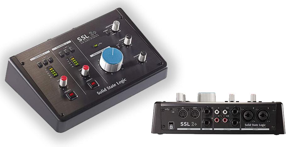 SSL SSL2+ USB-C Audio Interface