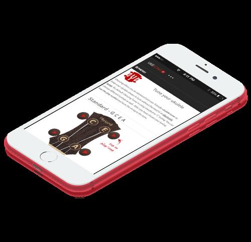 online ukulele tuner mobile